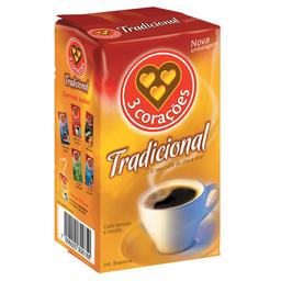 Café Em Pó À Vácuo 3 Corações 250 g