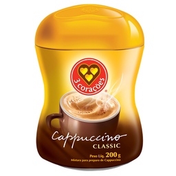Capuccino 3 Corações Classic 200 g