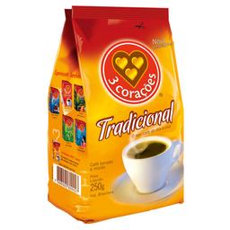 Café Em Pó 3 Corações 250 g