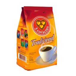 Café Em Pó 3 Corações 500 g