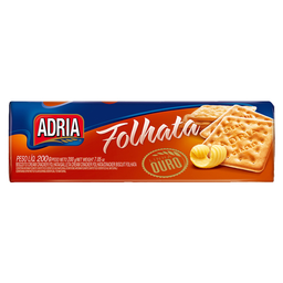 Biscoito Cream Cracker Manteiga Adria Ouro 200 g