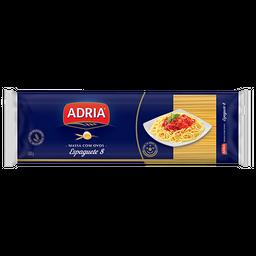 Macarrão Espaguete Adria Nº8 Com Ovos 500 g