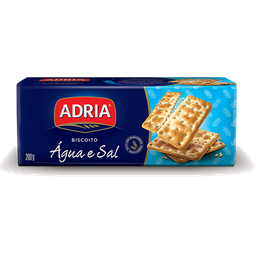 Biscoito Água E Sal Adria 200 g