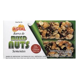 Barra Nuts Sementes Agtal Com 2 Unidades