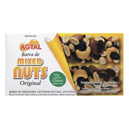 Barra Nuts Original Agtal Com 2 Unidades