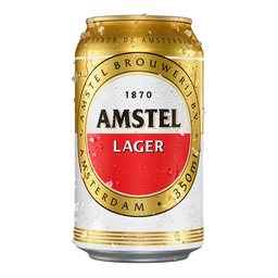 Cerveja Amstel Pilsen Lager 350 mL