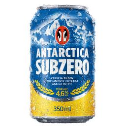 Cerveja Antartica Subzero Pilsen 350 mL