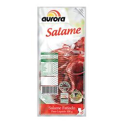 Salame Italiano Fatiado Aurora 100 g
