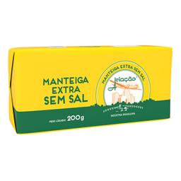 Manteiga Sem Sal Aviação Barra 200 g