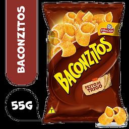 Salgadinho de Trigo Bacon Elma Chips Baconzitos Pacote 55g