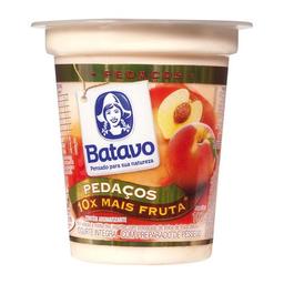 Iogurte Integral Batavo Pedaços Pêssego 100 g