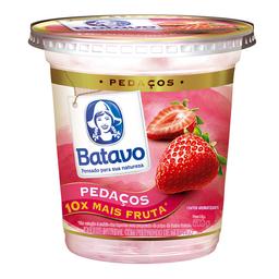 Iogurte Integral Batavo Pedaços Morango 500 g