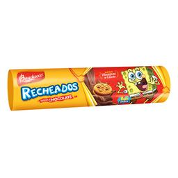 Biscoito Recheado De Chocolate Bauducco Bob Esponja 140 g