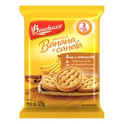 Biscoito Amanteigado Banana E Canela Bauducco 375G