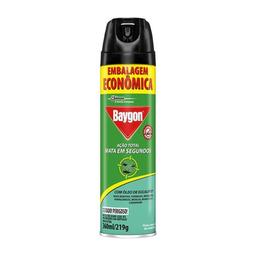 Inseticida Baygon Ação Total Eucalio 395 mL