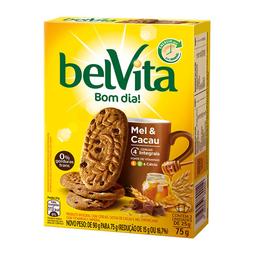 Biscoito Integral De Mel E Cacau Belvita 75G