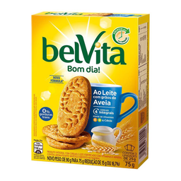 Biscoito Ao Leite Com Aveia Belvita 75G