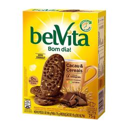 Biscoito De Cacau E Cereais Belvita 75G