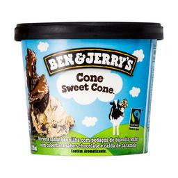 Sorvete Cone Sweet Cone Ben & Jerry's 120Ml