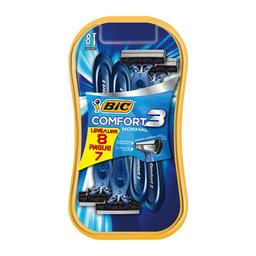 Aparelho De Barbear Descartável Bic Comfort 3 Com 8 Unidades