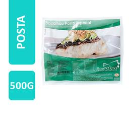 Posta De Bacalhau Congelado Bom Porto Morhua 500 g