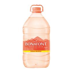 Água Mineral Sem Gás Bonafont 7 Litros