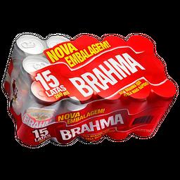 Cerveja Brahma Pilsen Lager 269 mL Com 15 Und