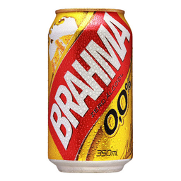 Cerveja Sem Álcool Brahma Pilsen Lager 350 mL