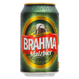 Cerveja Brahma Malzbier Lager 350 mL