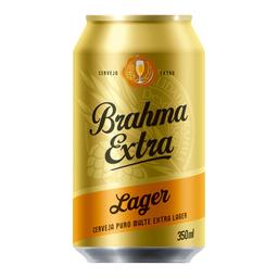 Cerveja Brahma Extra Lager 350 mL