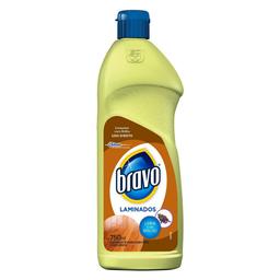 Limpa Piso Bravo Para Laminados 750 mL