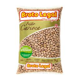 Feijão Carioca Tipo 1 Broto Legal 1 Kg