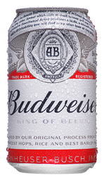 Cerveja Budweiser Pilsen Lager 350 mL