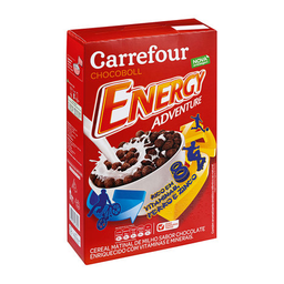 Cereal Matinal Sabor Chocolate Carrefour Energy Adventure 200 g