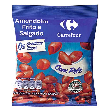 Amendoim Com Casca Salgada Tradicional Carrefour