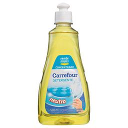 Detergente Líquido Carrefour Concentrado Neutro 500 mL