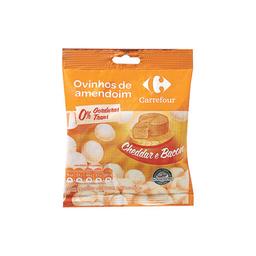 Amendoim Ovinho Sabor Cheddar E Bacon Carrefour 100 g