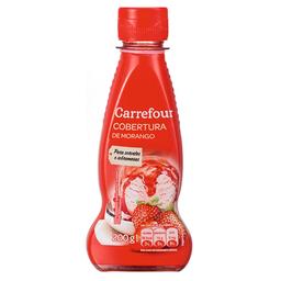 Cobertura Para Sorvete Sabor Morango Carrefour 200 g
