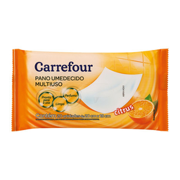 Toalha Umedecida Carrefour Citrus Com 20 Unidades