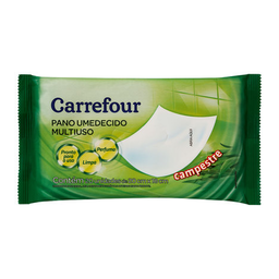 Toalha Umedecida Carrefour Campestre 20 Unidades