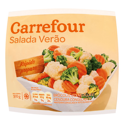 Mix De Legumes Verão Congelado Picado Carrefour