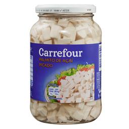 Palmito Açaí Picado Em Conserva Carrefour 270 g