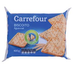 Biscoito Água E Sal Tradicional Carrefour 400 g