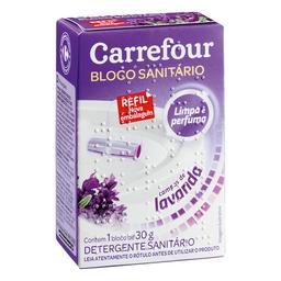 Desodorizador Sanitário Carrefour Lavanda 30 g