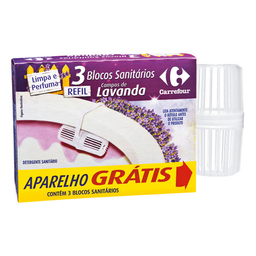 Desodorizador Sanitário Carrefour Lavanda 90 g