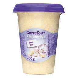 Alho Branco Perolado Triturado Carrefour 200 g