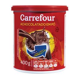 Achocolatado Em Pó Instantâneo Carrefour 400 g