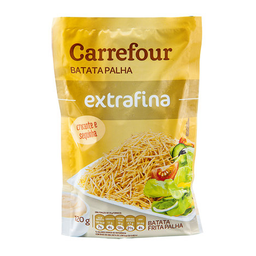 Batata Frita Palha Carrefour Extra Fina 120 g