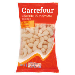 Biscoito De Polvilho Salgado Carrefour 100 g