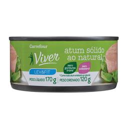 Atum Sólido Ao Natural Carrefour Viver 170 g